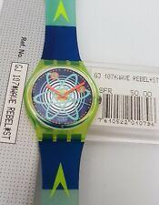 Swatch Gent GJ107 Wave Rebel - neu in Box - ungetragen - Kollektion 1992