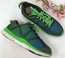 DR. COMFORT Katy Sneakers Blue Green Black Sz 7 M Medium Women's Walking Shoes
