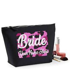 Personalizado De Novia Boda para Mujer Bolsa De Maquillaje Mamá Regalo De Cumpleaños Caja para maquillaje