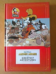 Walt Disney's Mickey Mouse The Greatest Adventures Book