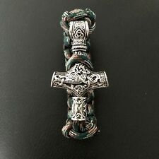 Wikinger Thorhammer  925 Silber Mittelalter 3,2x1,7cm Replik Fund Insel Falster