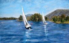 SML Fall Regatta (10.5 x 15.5) -- Giclee Print by Shelley Koopmann