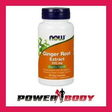 NOW Foods - Ginger Root Extract, 250mg - 90 vcaps