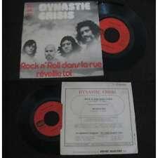 DYNASTIE CRISIS - Rock'N'Roll Dans La Rue Rare French PS Psych Prog