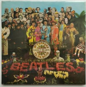 THE BEATLES , SGT. PEPPERS, 1st. PRESS 1967, WIDE SPINE,+ INSERT,PCS7027 PERFECT
