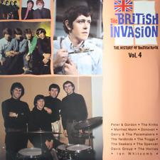 V.A. The British Invasion Vol. 4 - NEW SEALED 1988 LP The Yardbirds Kinks #70322