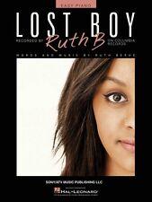 Lost Boy Sheet Music Easy Piano Ruth B New 000199141