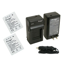 2x EN-EL8 Battery+Charger for NIKON Coolpix P2 S1 S2 S3 S5 S50 S50c S51 S51c S52