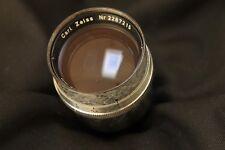 Carl Zeiss  Sonnar 135mm f 4 late version , cine lens