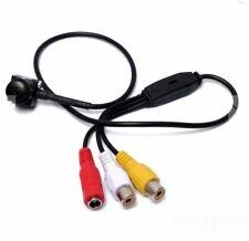 Mini camera spy cam telecamera di sicurezza audio cablata 600TVL  pulsante cctv