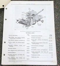 JOHN DEERE 40 COMBINE PARTS CATALOG PC-651 APRIL 1967