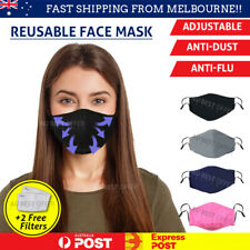 Reusable Face Mask 🔥Washable🔥 Anti Air Pollution Mask🔥 Cotton PM2.5 Filters🔥
