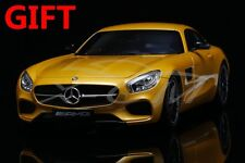 Car Model Norev Mercedes-Benz AMG GT 1:18 (Yellow) + SMALL GIFT!!!