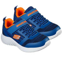 Skechers Boys Trainers Kids Bounder Running School Casual Shoes Sneakers Blue