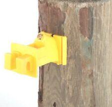Dare, 100 Count, Yellow, Snug Wood Post Insulator