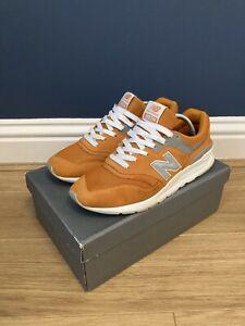 New Balance 997 Orange / 3M UK10. 998 999 1500 1600  97 Concepts Kith. RRP £95