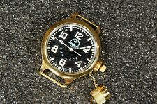 Russian USSR Soviet Divers watch Zlatoust. VMF CCCP Navy Submarine #2. Gold Case