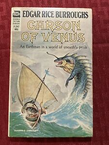 Carson Of Venus By Edgar Rice Burroughs First Ace Edition F-247