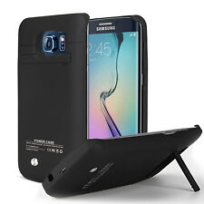 Samsung galaxy S7/edge S6 Edge 5200mah backup battery case stand cover Shockproo
