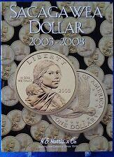HE Harris Sacagawea Dollar 2005-2008 Coin Folder, Album, Book #2943