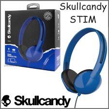 Skullcandy Stim On-Ear Headphones with Mic Call & Track Control Blue