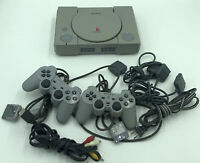 Vintage Gray Sony PlayStation One PS1 Model SCPH-9001 Untested LOT