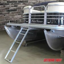 Extreme Max Under-Mount 4-Step Pontoon Ladder Tracker, Bennington, Premier