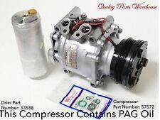 92-93 Honda Civic; 93 Honda Civic Del Sol USA Reman AC Compressor kit W/warranty
