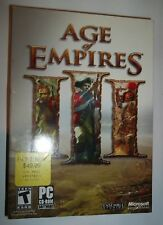 Microsoft Age of Empires III 3 -- Real-Time Strategy (RTS) Windows Computer Game
