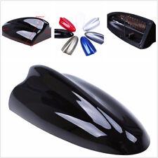 Classic Shark Fin Antenna Amplifier Roof Stickers Decoration Black Handy FM/AM