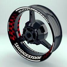 "Felgenaufkleber Felgenrandaufkleber Premium Wheelsticker ""Bridgestone V3"""