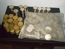 Huge Lot +500 Rare  Israel  Old-Shekel coins UNC