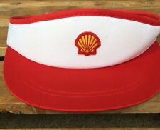Shell Oil & Gas Embroidered Logo Visor Hat Cap Adjustable