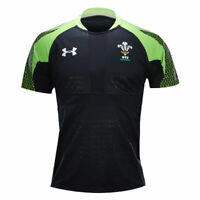 UNDER ARMOUR wales rugby WRU sevens rugby shirt [black/green]