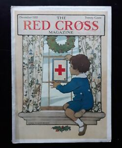 Jessie Willcox Smith Cover Art Red Cross Magazine 10/ 1918 Full Issue