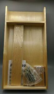 Rev-A-Shelf - LD-4CT15-1 - Small Adjustable Wood Drawer Organizer Kit, Natural