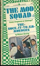 THE MOD SQUAD #3 The Sock-It-To-Em-Murders by Rich Deming (1968) Pyramid pb 1st