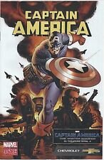 MARVEL - AMERICA THE WINTER SOLDIER COMIC BOOK PROMO VARIANT CHEVROLET CUSTOM