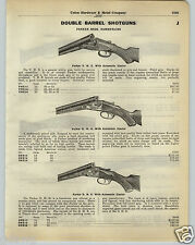 1930 PAPER AD Parker Bros Double Barrel Shotgun Smith Crown Grade Eagle Trap