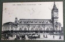 CPA. PARIS. 75 - La GARE de LYON.