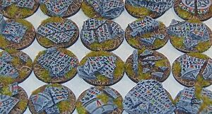 32mm Rune bases, Sci-fi fantasy by Daemonscape Qty10-50