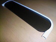 neue HEWI Ablage mit Glasplatte 475.5.100 P weiß Rauchglas 600 x 140mm