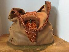 Carlos Falchi Leather  Hobo  Bag used