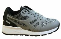 Diadora N9000 Moderna Mens Trainers Grey Lace Up Unisex Shoes 75073