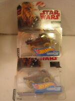 CHEWBACCA STAR WARS LAST JEDI CHARACTER CARS HOT WHEELS HAN SOLO REBELS WOOKIE