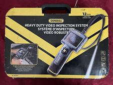 General The Seeker 312 Heavy Duty Video Inspection System Dcs312