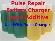 12V Pulse Repair Battery Charger Liquid Additive Car Motorcycle WET Lead Acid