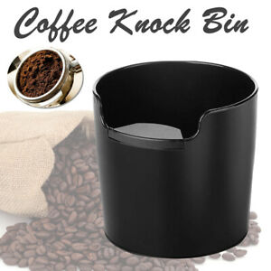Coffee Knock Bin  Espresso Grinds Tamper Waste Box Container Tamp Tube AU New