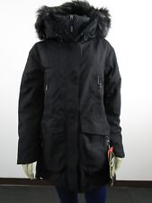 NWT Womens The North Face TNF Cryos GTX Goretex Parka Wool Winter Jacket Black
