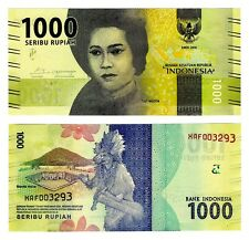 2016 Indonesia 1000 Rupiah Uncirculated One Note